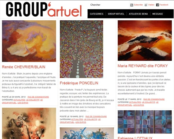 Blog du Group'artuel