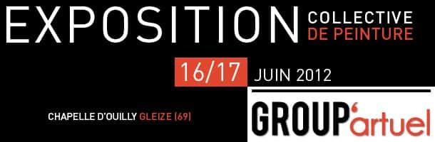 Découvrez mes peintures le 16 et 17 juin 2012 à Gleizé
