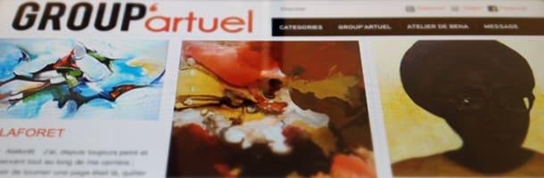 Group'Artuel : collectif qui réunit des artistes de tous niveaux