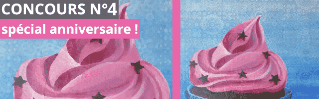 """Concours spécial anniversaire Quileutcuit : un tableau signé """"elle"""" à gagner !"""