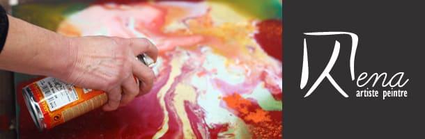 Bena, artiste peintre plasticienne professionnelle