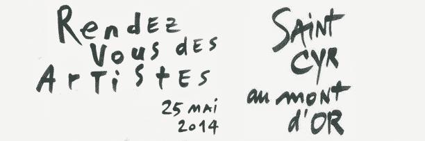 Rendez-vous des artistes 2014 à Saint-Cyr au Mont d'Or