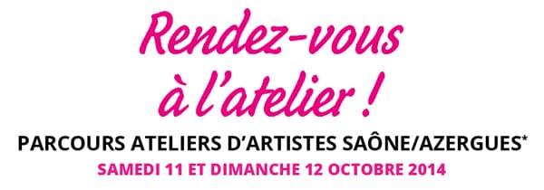 Parcours ateliers d'artistes Saône/Azergues