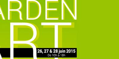 """Réalisation de l'identité visuelle de l'évènement artistique """"Garden Art"""" du Group'Artuel"""