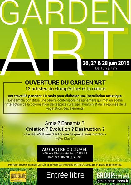Garden Art - GroupArtuel Estelle Simonet-Revol