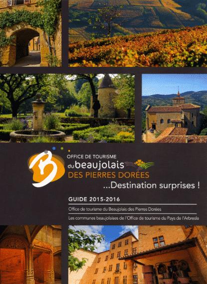 Guide touristique du Beaujolais des Pierres Dorées