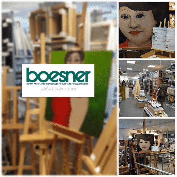 Exposition chez Boesner - Estelle Simonet-Revol