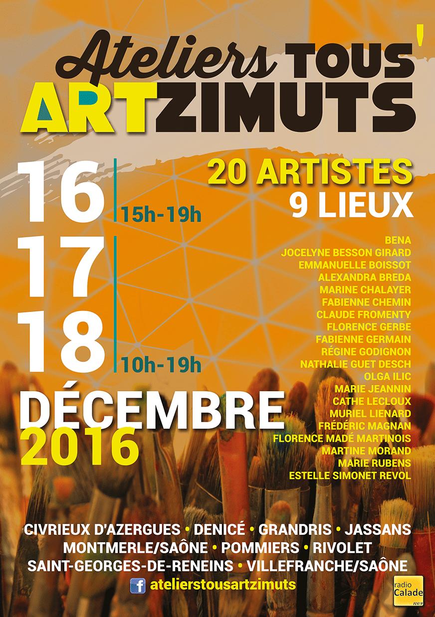 Atelier tous Artzimuts 2016 - Estelle Simonet-Revol, graphiste et artiste plasticienne