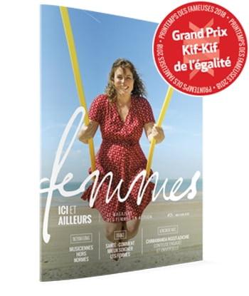 Magazine Femmes ici et ailleurs - Estelle Ambassadrice - code QLTX554