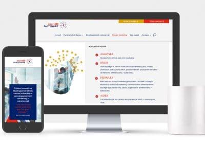 Identité de marque • Création site internet • Success Partenaire